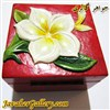 ظرف منقش سنگی بسیار نفیس و زیبا طرح گل نیلوفر