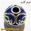 آویز نقره گردنبند و دستبند پاندورا مردانه و زنانه آبی و سبز طرح لوکس و زیبا