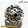 آویز نقره دستبند مردانه و زنانه طرح گل لوکس و شیک