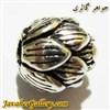 آویز دستبند نقره مردانه و زنانه طرح گل قشنگ