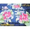 روسری ابریشمی خالص دست بافت رنگ آمیزی شده با دست بسیار نفیس آبی