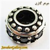 حلقه نقره دستبند و گردنبند پاندورا با سنگهای کوارتز