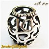 حلقه نقره دستبند و گردنبند پاندورا با قلبهای کوچک و بزرگ زیبا