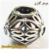 حلقه نقره دستبند و گردنبند پاندورا با سنگهای کوارتز صورتی