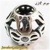 حلقه نقره دستبند و گردنبند پاندورا با طرح خاص و سنگهای زیرکن