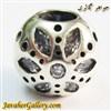 حلقه نقره دستبند و گردنبند پاندورا طرح لوکس با نگینهای اونیکس درخشان