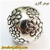 حلقه نقره گردنبند و دستبند pandora پاندورا اصل باز شو طرح گلهای لوکس