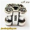 حلقه نقره گردنبند و دستبند pandora پاندورا اصل طرح کالسکه با سنگهای یاقوت قرمز