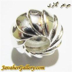 حلقه نقره پاندورا با طرحی زیبا