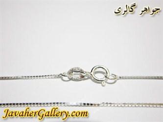 گردنبند (زنجیر) نقره ایتالیایی