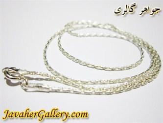 گردنبند (زنجیر) نقره 925 عیار