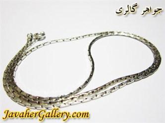گردنبند (زنجیر) نقره درشت