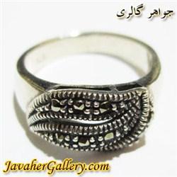 انگشتر نقره زنانه مارکازیت زیبا و شیک
