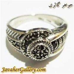 انگشتر نقره زنانه مارکازیت بسیار زیبا و شیک