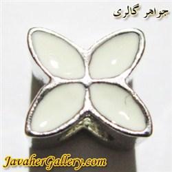آویز نقره گردنبند و دستبند پاندورا سفید با طرح شیک و زیبا