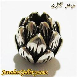 آویز دستبند نقره زنانه و مردانه طرح گل کوچک