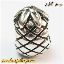 حلقه نقره گردنبند و دستبند pandora پاندورا اصل با طرح آناناس
