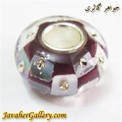 حلقه دستبند و گردنبند نقره پاندورا pandora قهوه ای شفاف با نگینهای زیرکن