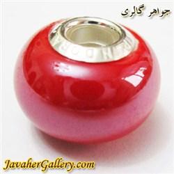 حلقه دستبند و گردنبند نقره پاندورا pandora اصل قرمز با سنگ عقیق براق