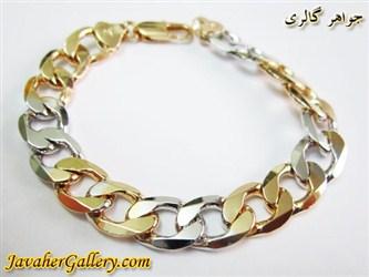 دستبند ژوپینگ xuping طرح کارتیه درشت مردانه با روکش آب طلا و رادیوم